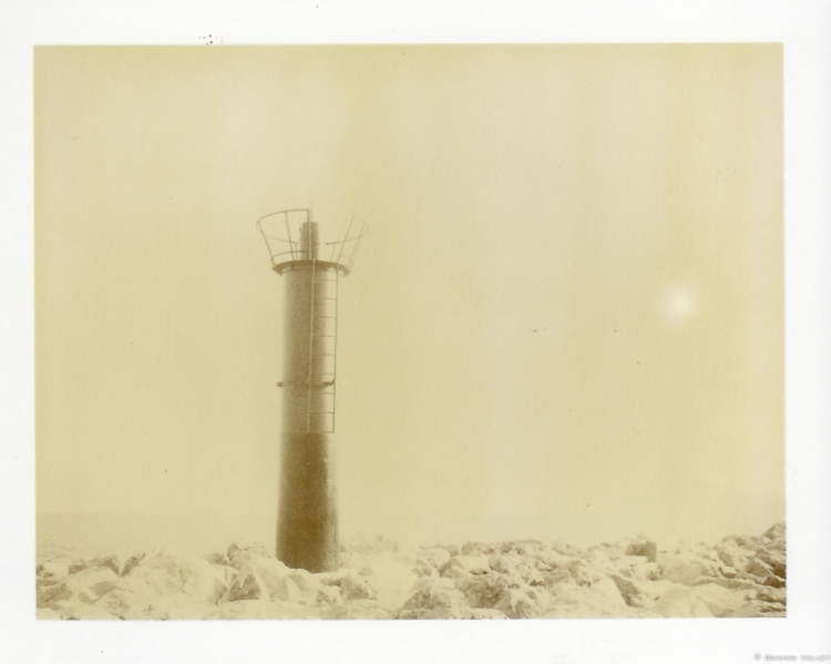 Phare, Villajoyosa, Costa Blanca, Polaroid 350 + Chocolate 100