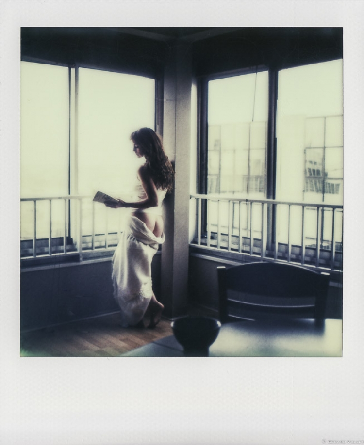 Un Peu d'Elle(s), Aurélie, Polaroïd SLR670 + Impossible color 600