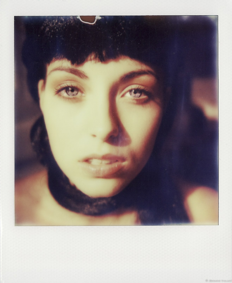 Portrait Chloë, Polaroid SLR670 + Impossible color 600