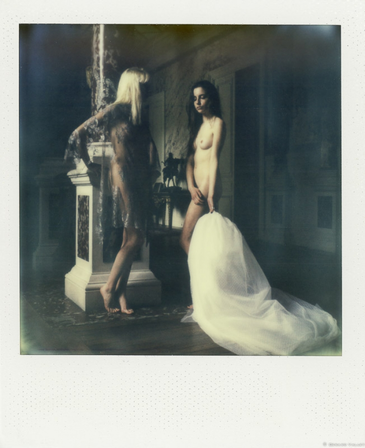 Les Limbes du Temps, Chateau La Brède, Polaroid SLR670 + Impossible color 600
